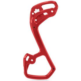 Garbaruk Caja Cambio Trasero 11 velocidades para Shimano M6000/7000/8000/9000, rojo
